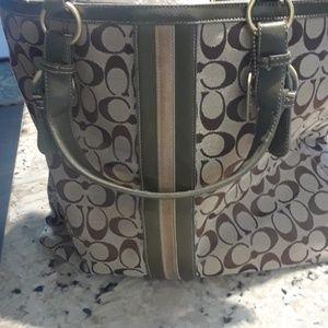 Coach Bag  large authentic nice